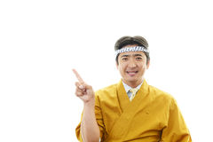 Japanese chef Royalty Free Stock Photos