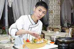 Japanese chef Stock Photos
