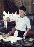Japanese chef Stock Photo