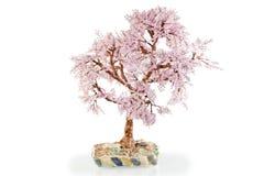 Japanese cherry handmade beaded Royalty Free Stock Photo