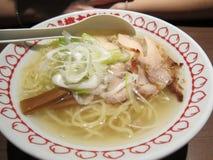 Japanese Chicken Ramen Noodle Royalty Free Stock Photo