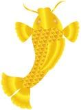 Japanese or Chinese Koi Fish Illustration Royalty Free Stock Photo
