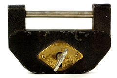 Japanese Chinese Korean Aki Tosa Tansu Chest Kagu Lock & Skeleton Key Stock Photo