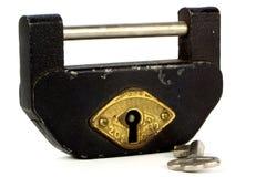 Japanese Chinese Korean Aki Tosa Tansu Chest Kagu Lock & Skeleton Key Stock Image
