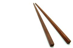 Japanese chopsticks. Royalty Free Stock Image