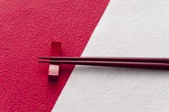 Japanese chopsticks Stock Images
