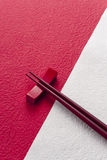 Japanese chopsticks Stock Photo
