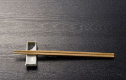 Japanese chopsticks Royalty Free Stock Image