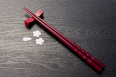 Japanese chopsticks Royalty Free Stock Photo