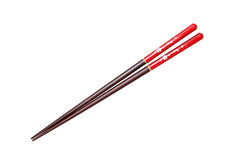 Japanese chopsticks. Cherry blossom flower pattern Royalty Free Stock Photography