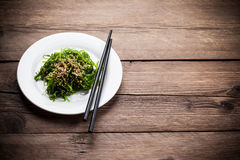 Japanese Chuka Wakame Stock Photography