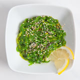 Japanese Chuka Wakame seaweed salad with sesame sauce Stock Photo