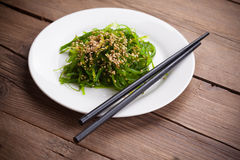 Japanese Chuka Wakame seaweed salad Royalty Free Stock Photography