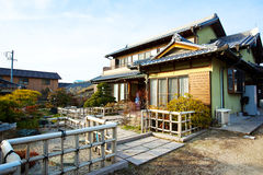 Japanese classical villa. This is japanese classical villa with garden, in rural areas in Nagoya  Japan Stock Photos