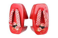 Japanese Clogs Royalty Free Stock Photography