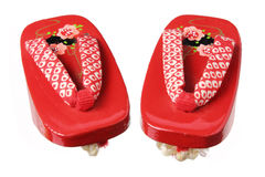 Japanese Clogs Royalty Free Stock Images