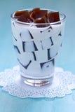 Japanese Coffee Jelly Stock Image