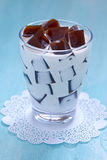 Japanese Coffee Jelly Royalty Free Stock Image