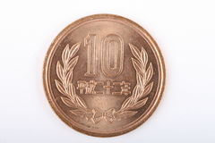 Japanese coin Stock Images