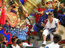 Japanese colorful summer festival Royalty Free Stock Photo