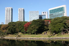 Japanese commercial buildings 1 Stock Photography