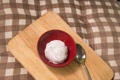Japanese Confectionery of Strawberry Mochi or Ichigo Daifuku Royalty Free Stock Image