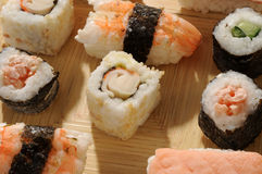 Japanese cooking Royalty Free Stock Images