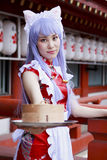 Japanese Cosplay Girl Stock Image