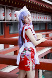 Japanese Cosplay Girl Royalty Free Stock Photo