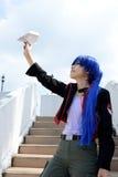 Japanese cosplay girls Royalty Free Stock Image
