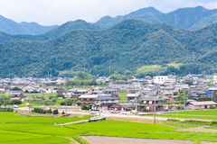 Japanese countryside Royalty Free Stock Images