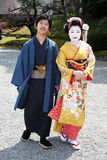 Japanese couple Stock Photos