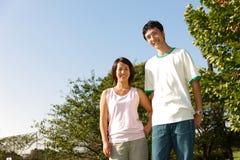 Japanese couple Royalty Free Stock Photo