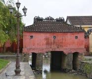 Japanese Covered Bridge Stock Image
