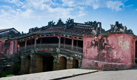 Japanese Covered Bridge of Hoi An, Vietnam Stock Images