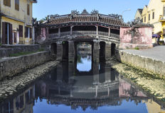Japanese Covered Bridge in Hoi an Royalty Free Stock Photos
