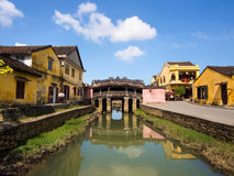 Japanese Covered Bridge, Hoi An, Vietnam. Japanese Covered Bridge in Hoi An, Central Vietnam stock photography