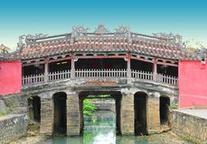 Japanese Covered Bridge in HoiAn, Vietnam Royalty Free Stock Image