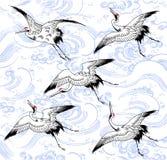 Japanese crane Royalty Free Stock Images