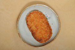 Japanese croquette Royalty Free Stock Photography