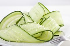 Japanese Cucumber Salad Stock Photo