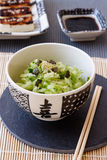 Japanese Cucumber Salad Royalty Free Stock Image