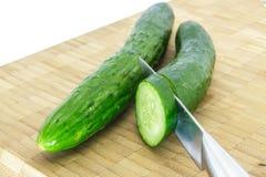Japanese cucumber Royalty Free Stock Photo