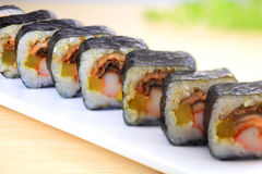 Japanese cuisine. Asian cuisine Stock Image