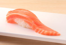 Japanese cuisine. Asian health food,sushi,The plate,sashimi,Rice balls,tuna,salmon,eat Stock Photography