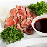 Japanese Cuisine - Beef Cuts Stock Photography