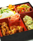 Japanese Cuisine - Bento Lunch Royalty Free Stock Images