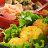 Japanese Cuisine - Bento Lunch Royalty Free Stock Photos