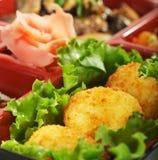 Japanese Cuisine - Bento Lunch Royalty Free Stock Photos