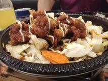 Japanese cuisine. Japanese bento set Royalty Free Stock Photo